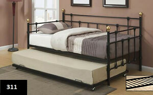 FREE DELIVERY ON STRONG METAL DAYBED AND TRUNDLE ON SALE!!!!