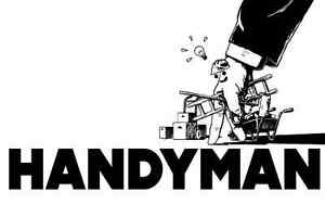 Handyman ...fiixed price for small job...hourly for large jobs