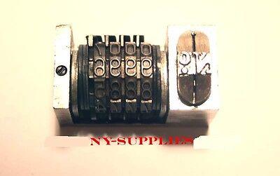 316 Letterpress Numbering Machine 4 Digits For Heidelberg Windmill Or Kluge .