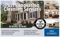 POST RENOVATION CLEANING SERVICE