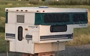 Slide in pop up camper