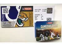 4xNFL Tickets - Wembley - Colts v Jaguars