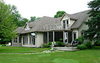 Lakefront Estate Home North East of Barrie Ontario
