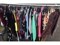 Job lot of women's clothes 60+ items (boot sale)