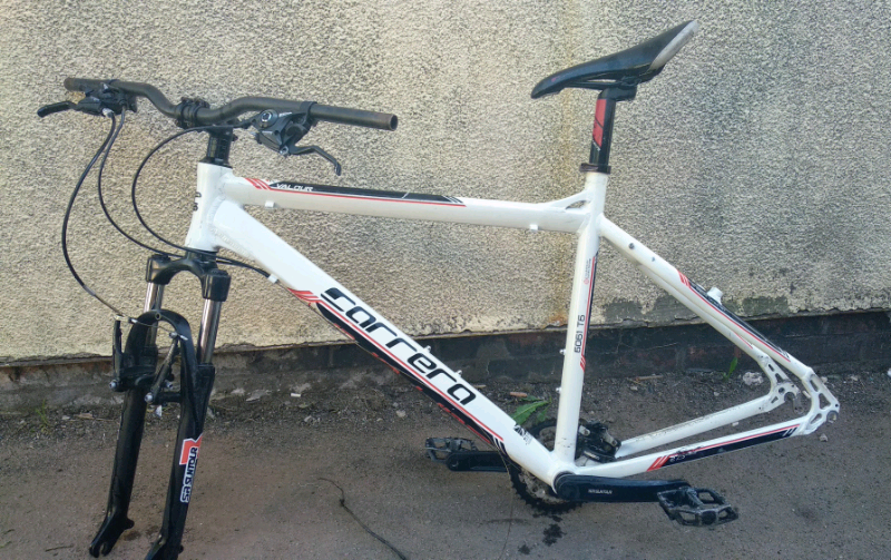 Carrera bike frame and forks | in Walsall, West Midlands | Gumtree
