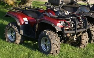 2005 Yamaha grizzly front bumper