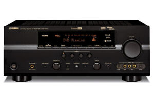 Yamaha HTR6060 home theater receiver 7.1 surround sound