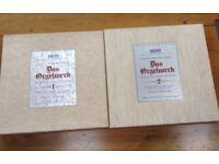 Helmut Walcha: Bach organ works, 15 vinyl albums