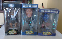 Head Knockers Bobble heads MIB2 Frank the Pug, Wolverine and Nig