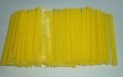 5000 Yellow 1 Clothing Garment Price Label Tagging Tagger Gun Barbs Fasterners