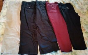 Plus Size Pants - 1 brand new + good condition