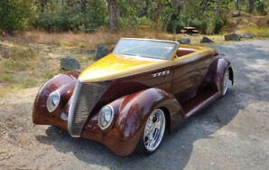 "1937 FORD ROADSTER  ""THE BROWN HORNET"""