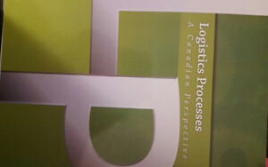Logistics Processes - A Canadian Perspective Text for sale