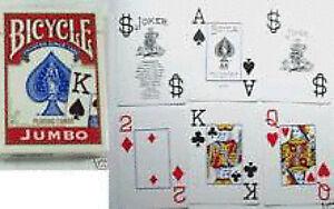 Mazzo-di-carte-Bicycle-Rosso-giochi-di-prestigio-trucchi-magia-cilindromagico