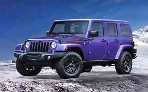 J'achète  jeep wrangler