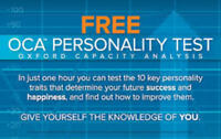 FREE PERSONALITY TEST - What are your Strengths and Weaknesses?