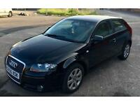 Audi A3 2.0 TDI 2005 SE Diesel 6 Speed 140 BHP black