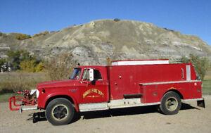 1966 Dodge D600 Fire truck 20000 kms