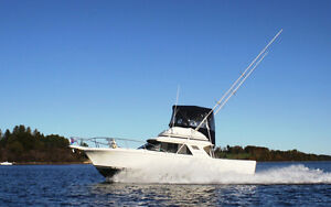 1988 Blackfin Sportfisher with twin inboards - WELL MAINTAINED