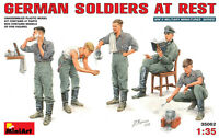 Plastic model kit Scale 1/35 German soldiers at rest