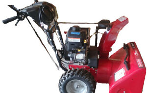 """BARELY used 2-stage 27"""" Craftsman snowblower for sale!"""