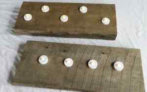 RECLAIMED BARN BOARD CANDLE HOLDERS London Ontario image 3