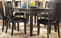 Ashley Carlyle Dinning Table - gently used - excellent condition