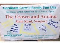 Family fun day for Yorkshire cancer research