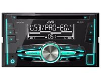 JVC KW510 Double Din Car Stereo - Can Provide fittings for Corsa C