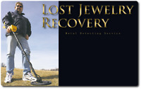 """Lost Jewelry Recovery""  Metal Detecting Service,  Mb."