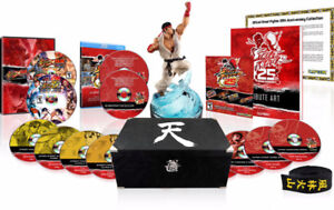 Street Fighter 25th Anniversary Collectors Set NEW