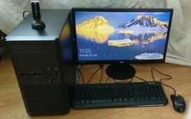 MSI AMD A8-5800K 3.6GHz Quad Core Desktop PC 8GB RAM 120GB SSD 500GB HDD