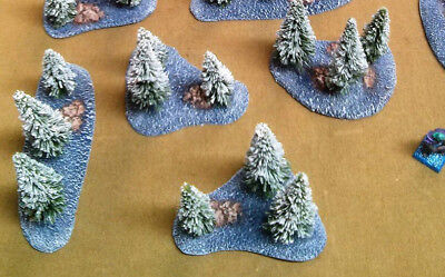 Painted Resin Tundra Tree Bases *FREE SHIPPING*