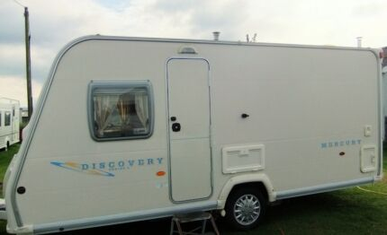 2007 Bailey Discovery Mercury 4 Berth,Fixed bed, Shower/toilet. Torquay Surf Coast Preview