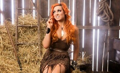 Becky Lynch Wwe Cowgirls Photo 4X6 8X10  Select Size   010