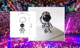 gift-boy girl man -ladies-Teenagers favourite -3D Astronaut Space Robot Spaceman Keychain Keyring