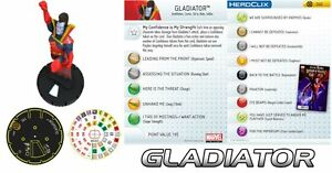 GLADIATOR #040 #40 Galactic Guardians Marvel Heroclix Super Rare