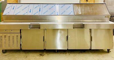 Traulsen Vps120j 4-door Refrigerated Prep Table