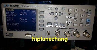 Bench Lcr Meter 10khz Tft Lcd 320x240 L C R Z D Q Measure Accuracy 0.2 Zx8511d