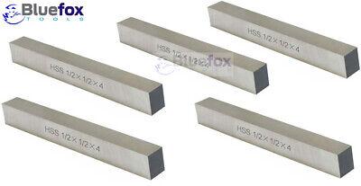 """5//8/"""" x 4-1//2/"""" 3 New Gold Chip Super Cobalt Square Hss Lathe Cutter Tool Bit"""