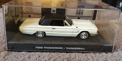 James Bond Car Collection Ford Thunderbird-Thunderball , used for sale  Shipping to South Africa