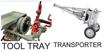 New Tool Tray Transporter Ridgid 300 Pipe Threader 811 Die Head Cutter Reamer