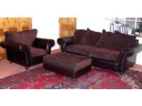 Sofa Suite Pouffe Arm chair