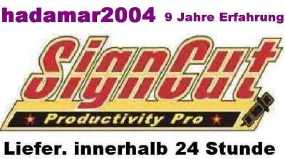 Schneidesoftware SignCutpro 1 Jahre Licenz *SUPPORT DE* Liefer mit Rechnung !!!