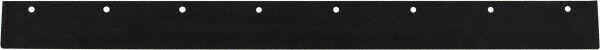 "PRO-SOURCE 24"" Rubber Blade Squeegee Refill Tapered End, Black"