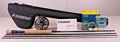 Sage Foundation Fly Rod Outfit 9 FT 8 WT FREE FAST SHIPPING (8wt Fly Rod Outfit)