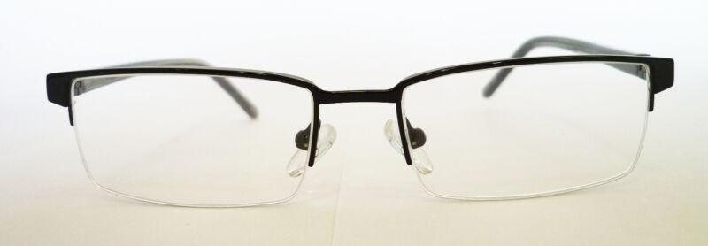 Magna Vision Design Italy Half Rim Uni-Sex Frame 52-17-140 RTV $225 SAVE