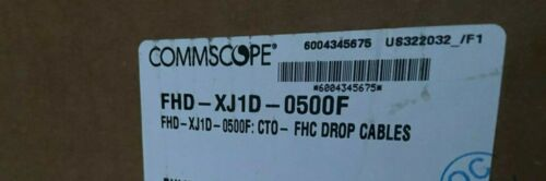 NEW COMMSCOPE TECHNOLOGIES LLC CABLE DLX TO SCAPC UNIV FLAT TONEABLE DROP 500