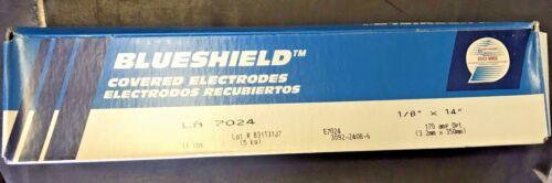 BLUESHIELD Covered Electrodes, E7024. 11 pound box.