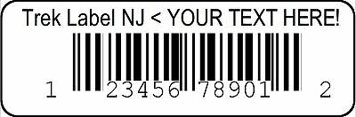 Custom Printed Upc Bar Code Number Label Stickers With Your Provided Number